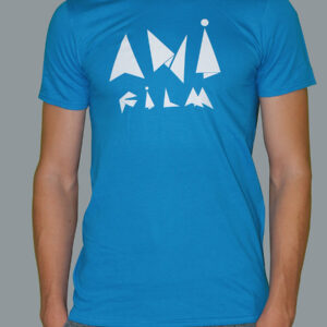 Anifilm 2018, modré tričko s logem