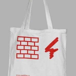 Anifilm 2013, bílá taška s červeným potiskem