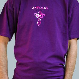 Anifilm 2015, fialové tričko